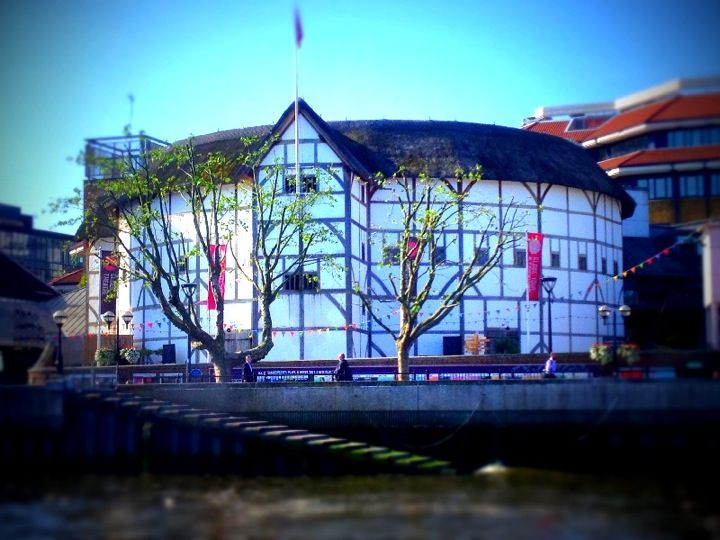 Walk past the Shakespeare's Globe Theatre, it's a re-build but beautiful.