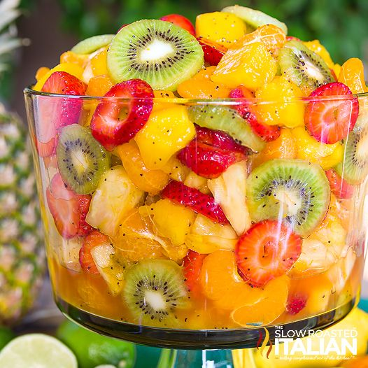 The Slow Roasted Italian - Printable Recipes: Best Ever Tropical Fruit Salad