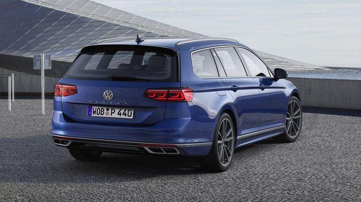 De vernieuwde Volkswagen Passat is hier met een heel
