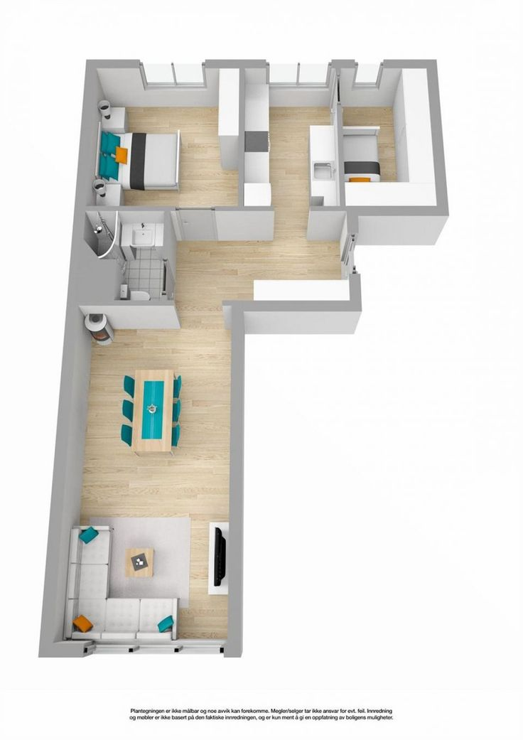 BISLETT/BOLTELØKKA - Flott 3-roms med nyere bad & kjøkken | Walk-in | VV & fyring inkl. | Ingen dok.avgift eller forkjøpsrett | VELKOMMEN