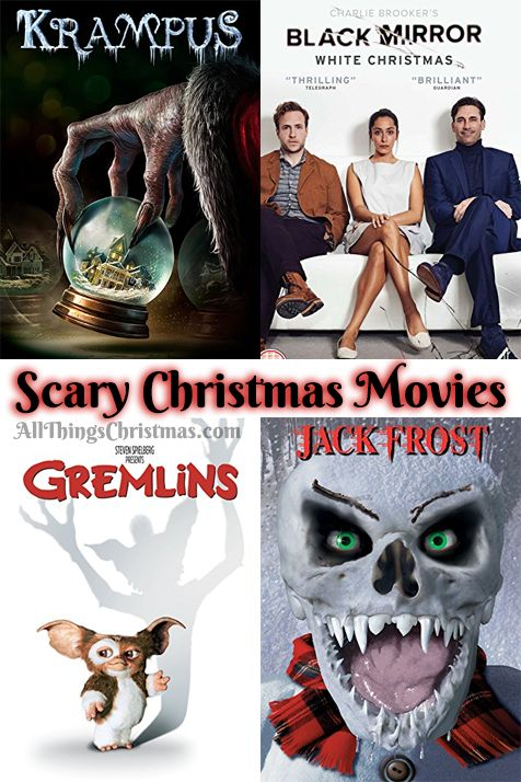 Best Scary Christmas Movies, Xmas horror, Halloween and Christmas Movies to watch on allthingschristmas.com