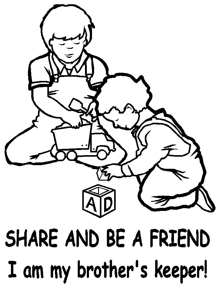 cain and abel genesis chapter 4 coloring page - Bible Coloring Pages Cain Abel