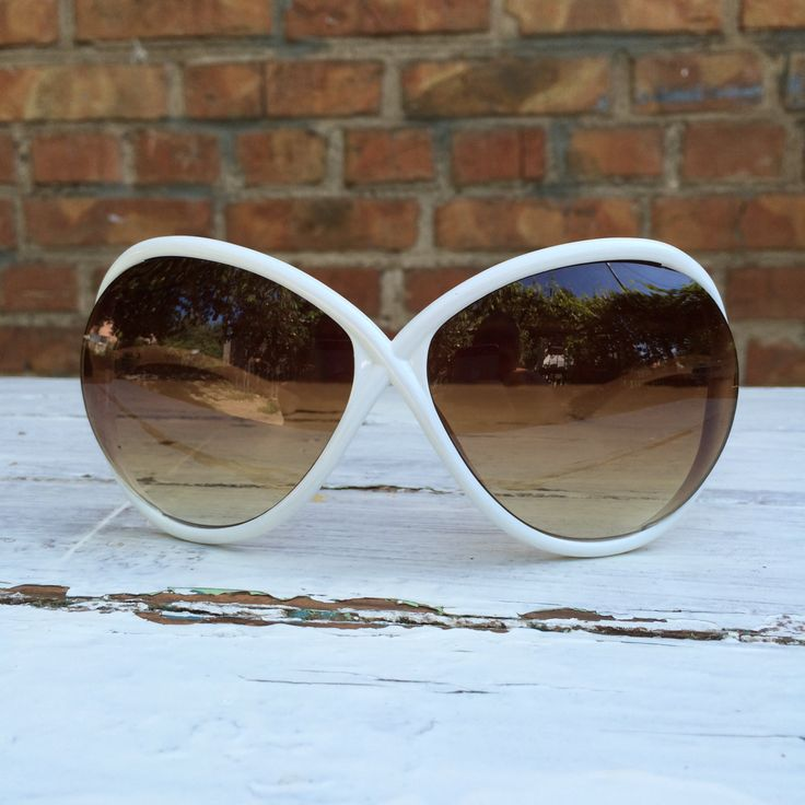 Tally Weijl, Dragonfly Vintage White Sunglasses, Butterfly