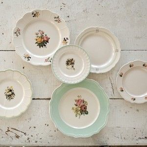 Dish Sets | Ceramic Dishes | Mismatched Dishes | Ceramic Dinnerware