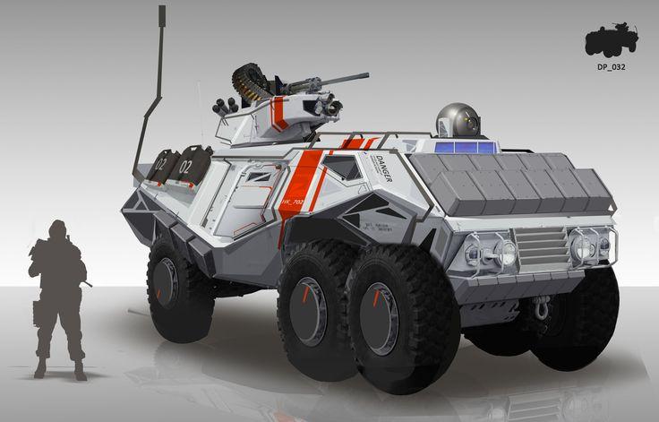 Future Lav W 25mm Autocannon Rws Concept Vehicles