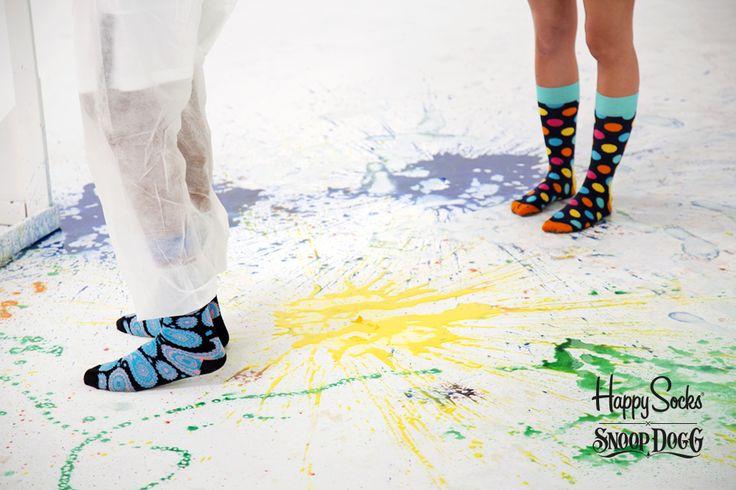 The Art of inspiration: Photoshoot. Paisley & Big Dot Socks by Happy Socks. www.HappySocks.com