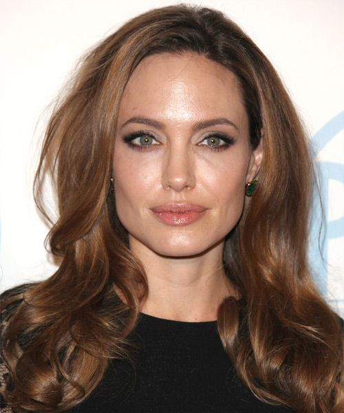 Angelina Jolie Hairstyles | Celebrity Hairstyles by TheHairStyler.com