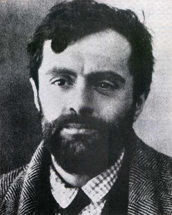 Modigliani...his mind is working, short life.