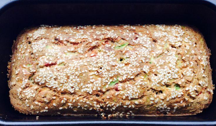 Još jedan doručak koji je gotov dok se istuširate i obučete - proja od integralnog brašna sa povrćem.