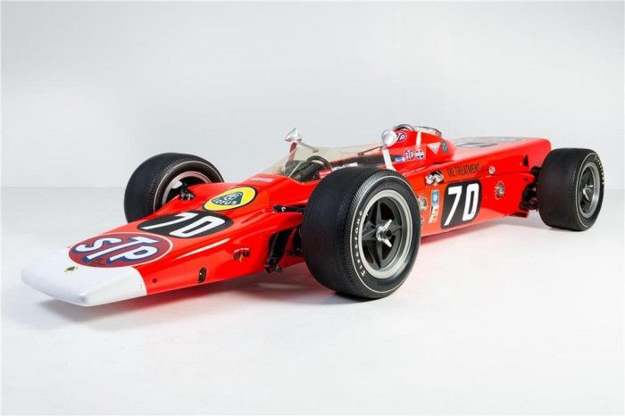 One of four built, Graham Hill�s Lotus 56-3 Turbine Indy Car heads to auction | Hemmings Daily