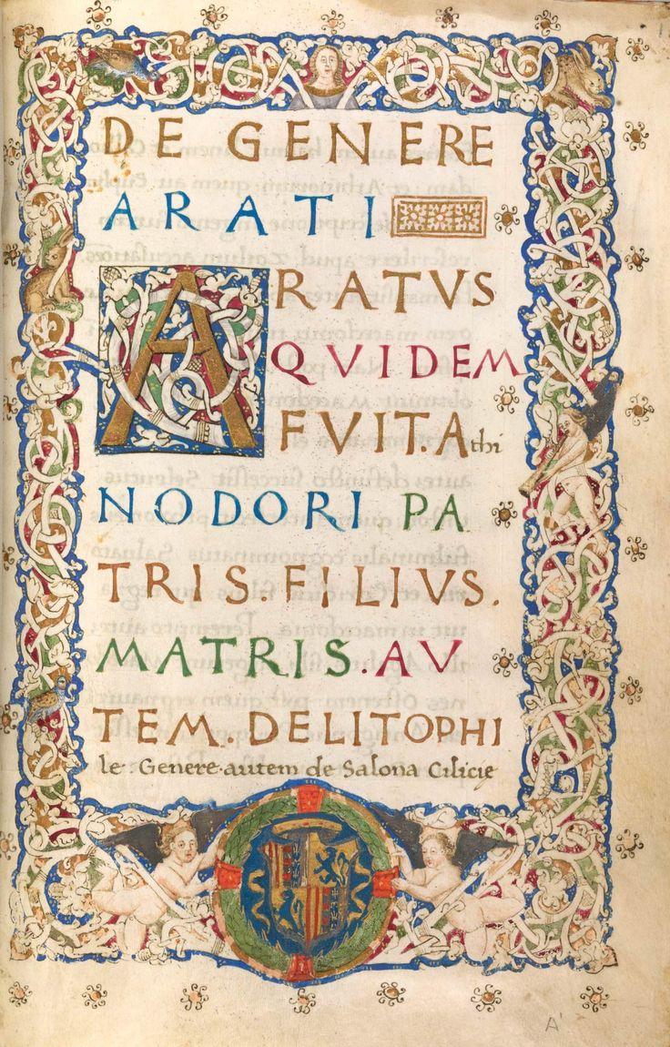 Phaenomena | Italy, Naples | 1469 | The Morgan Library & Museum