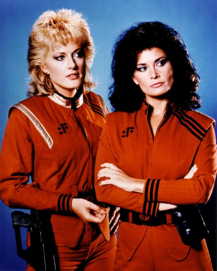 "mastersofthe80s: ""June Chadwick (Lydia) and Jane Badler (Diana) in 'V' (1984-1985) """
