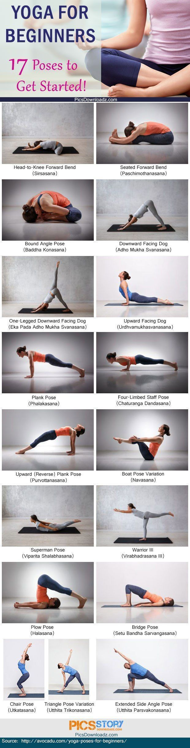 Yoga for beginners | Posted By: CustomWeightLossProgram.com