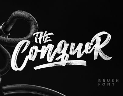 "Check out new work on my @Behance portfolio: ""The Conquer Typeface"" http://be.net/gallery/55048591/The-Conquer-Typeface"