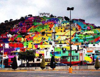 Quand le street art submerge des quartiers entiers d'Amérique latine…
