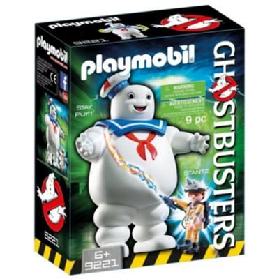 Ghostbusters Playmobil Stay Puft Stantz Set #9221