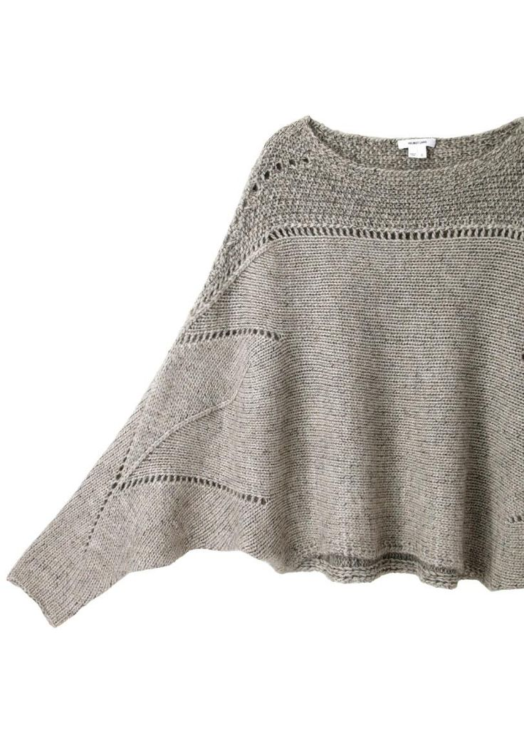 Helmut Lang / Polar Knit Cropped Sweater