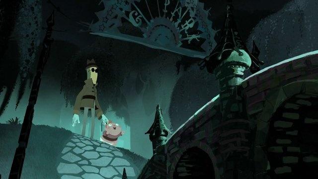 Whos afraid of Mr. Greedy by GOBELINS pro. Un homme vient récupérer son identité, volée par un ogre alors quil était enfant.