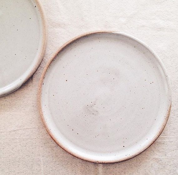minimalist dinner plate wheelthrown stoneware by mcbeardceramics & 31 best Minimalist Ceramic Dinnerware images on Pinterest ...