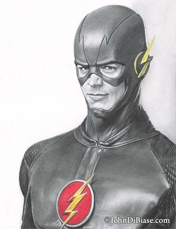 ~ CW's The Flash aka Barry Allen ~ by Nicole Fischer on Etsy