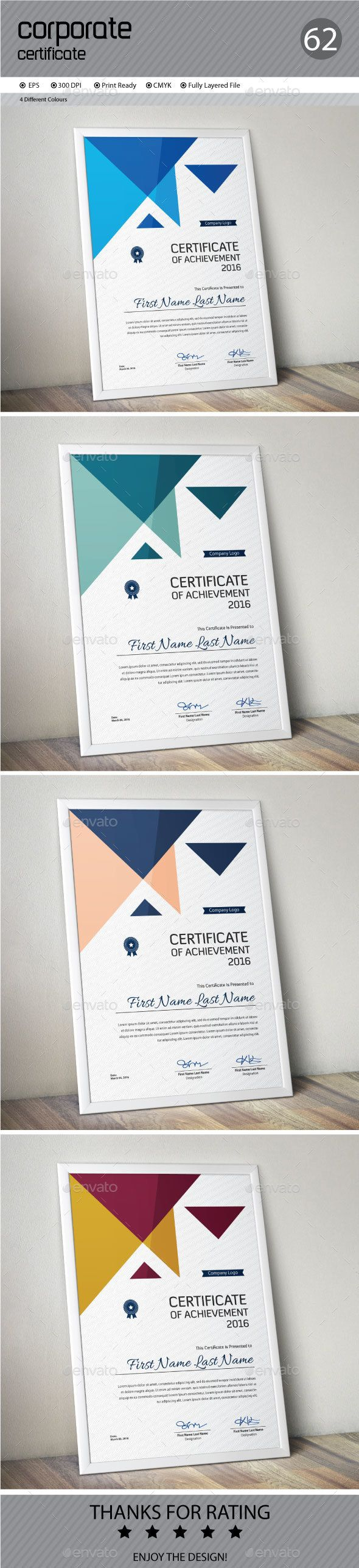 Certificate Template Vector EPS. Download here: http://graphicriver.net/item/certificate/15223920?ref=ksioks
