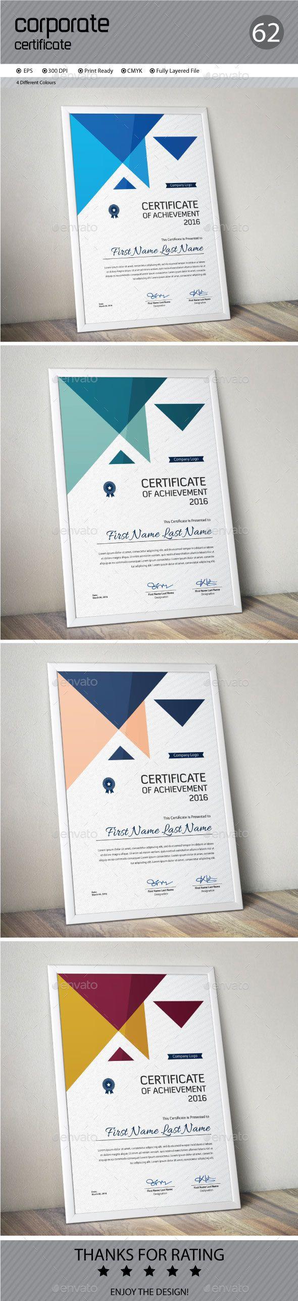 Certificate Template Vector EPS. Download here: http://graphicriver.net/item/certificate/15223920?ref=ksioks