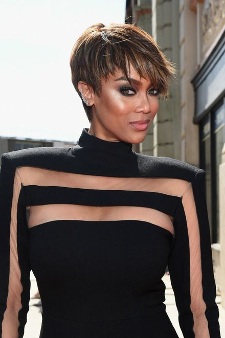 Pixie Cut Galore: Tyra Banks