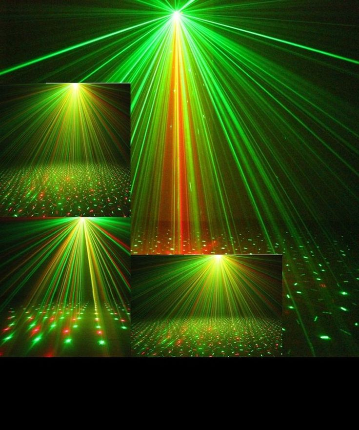 Laser Projector Stage Lights LED R+G Lighting Party DJ Disco KTV Night Show #Unbranded