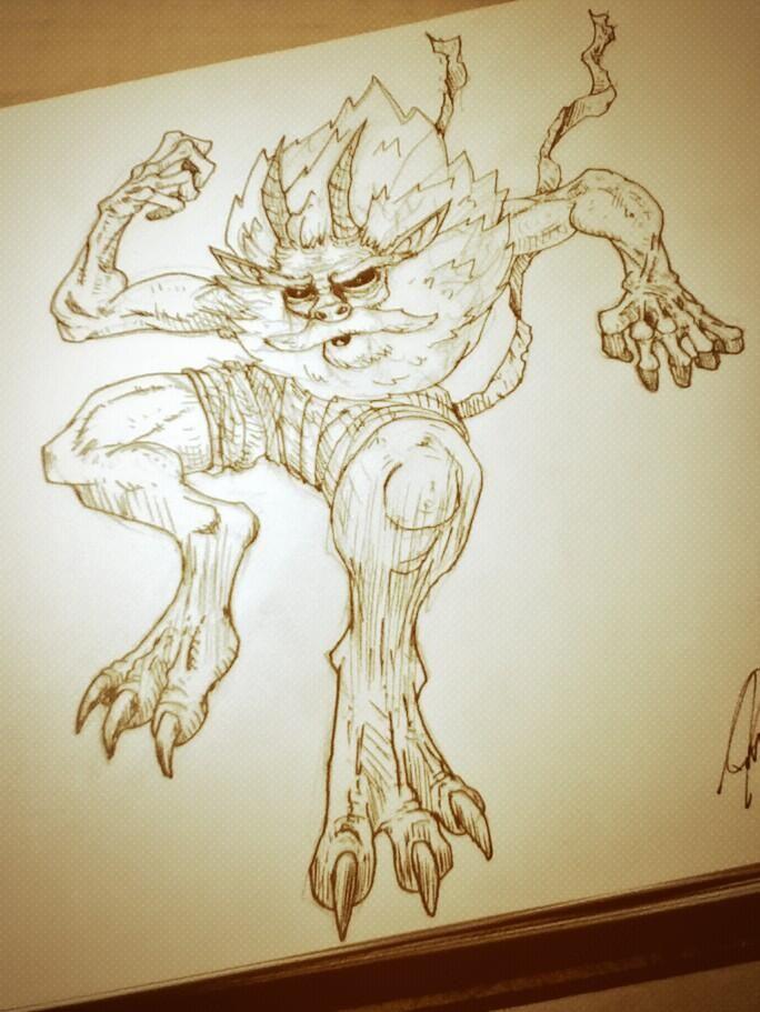 Entre 2 contrats ... #illustration #cartoon #demon http://www.davestudio.ca pic.twitter.com/ZZtUhdH2EF