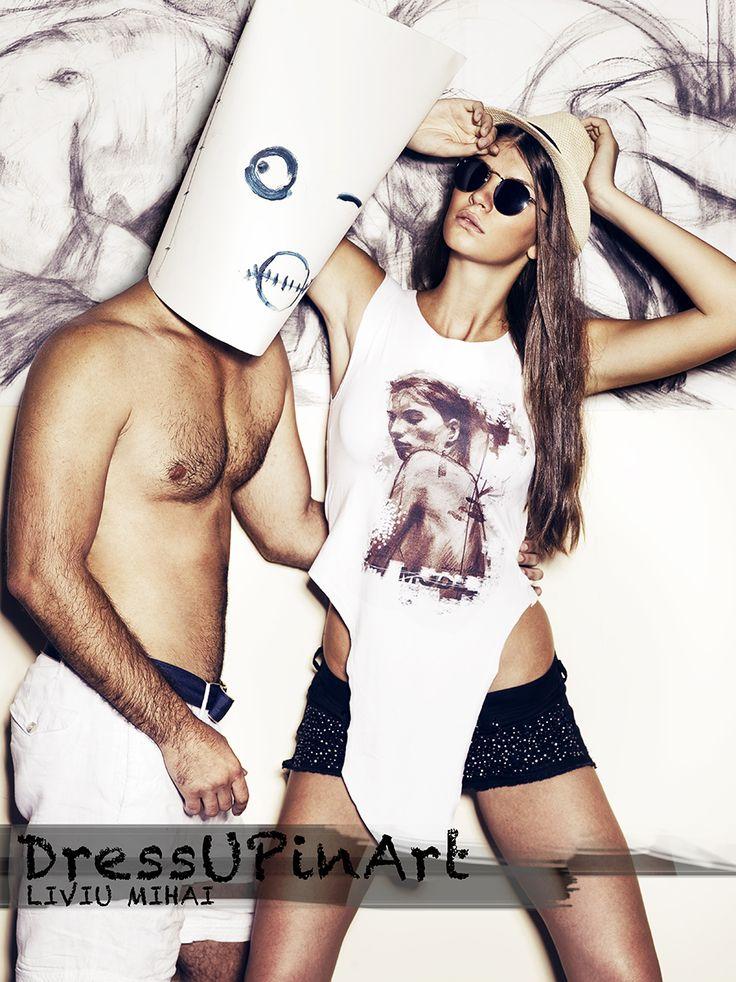 Take art with you! (t-shirt) http://www.facebook.com/Dressupinart