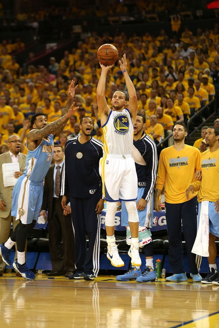 Stephen Curry lit up the scoreboard in Game 4 against Denver on April 28, scoring 22 of his 31 points in the third quarter of one of four postseason wins at Oracle Arena, which came to be known as the ROARacle this season.