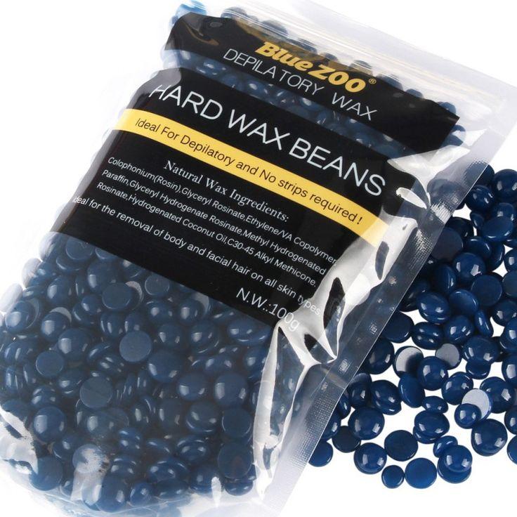 100g No Strip Depilatory Hot Film Hard Wax Pellet Waxing Bikini Hair Removal Lavender Beans New arrival