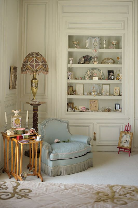 one of Coco Chanel's summer residence rooms near Monte Carlo at the Cote D'azur