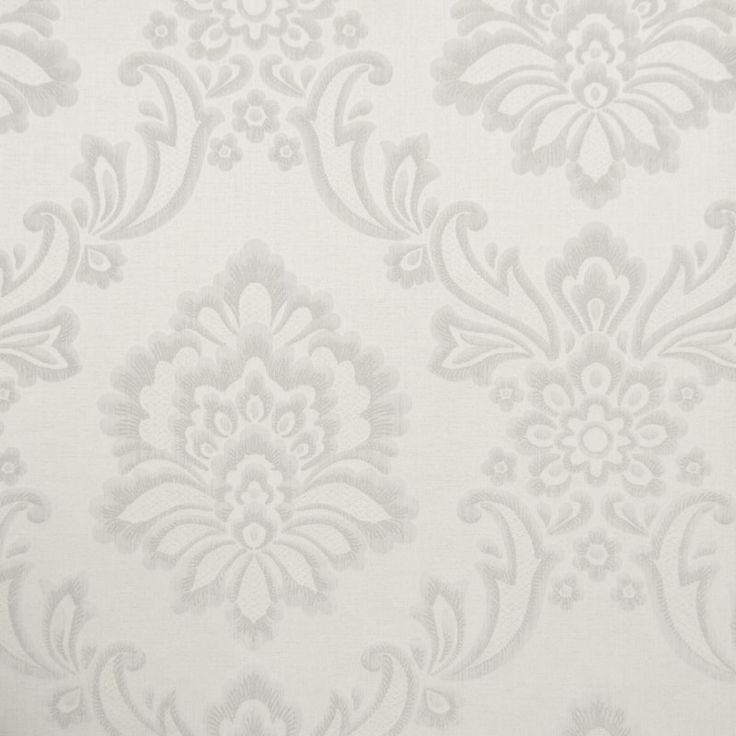 Tapet textil crem floral 072456 Sentiant Pure Kolizz Art