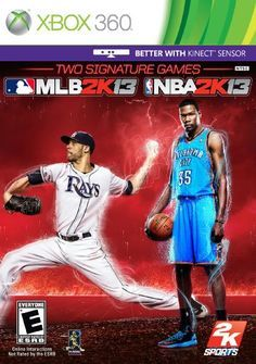 2K Sports Combo Pack  MLB2K13/NBA2K13  Xbox 360 2K Sports Combo Pack - MLB2K13/NBA2K13 - Xbox 360 With more than 5 million copies sold worldwide and more than 25 Sports Game of the Year awards won NBA 2K12 was another monster release for the biggest NBA video game simulation franchise in the world. This year 2K Sports has joined forces with the legendary JAY Z as Executive Producer to transcend sports video games and take virtual hardwood to the next level. Featuring an enhanced ..