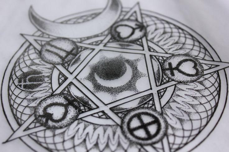 sailor moon planet symbols tattoo wwwimgkidcom the