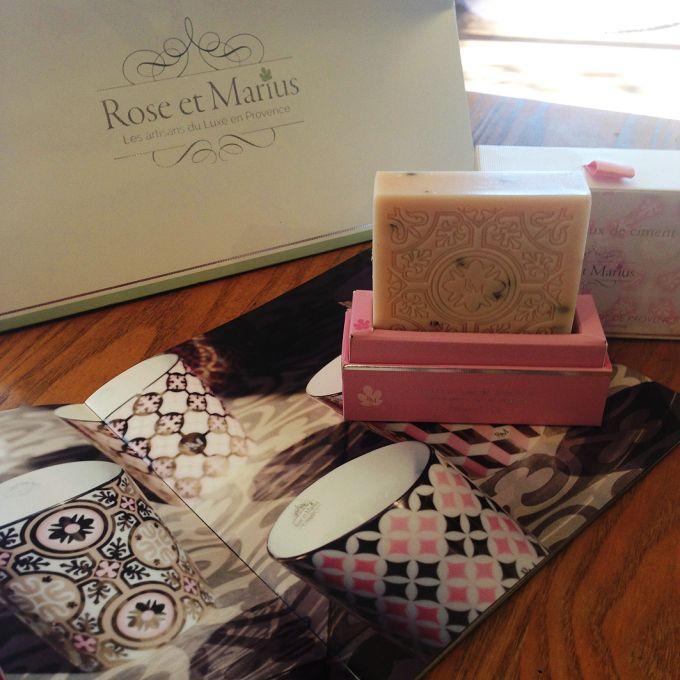 Les savons naturels de Rose et Marius www.roseetmarius.com