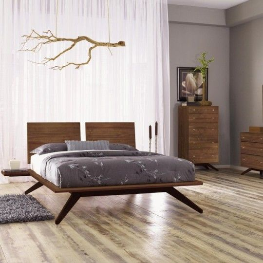 Cool Bed Design Ideas: Astrid Platform Bed By Copeland.