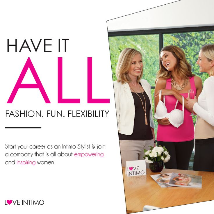 Fashion, fun and flexibility. With Intimo, you really can have it all. Discover our amazing business opportunity: http://theopportunity.intimo.com.au/#folio=1