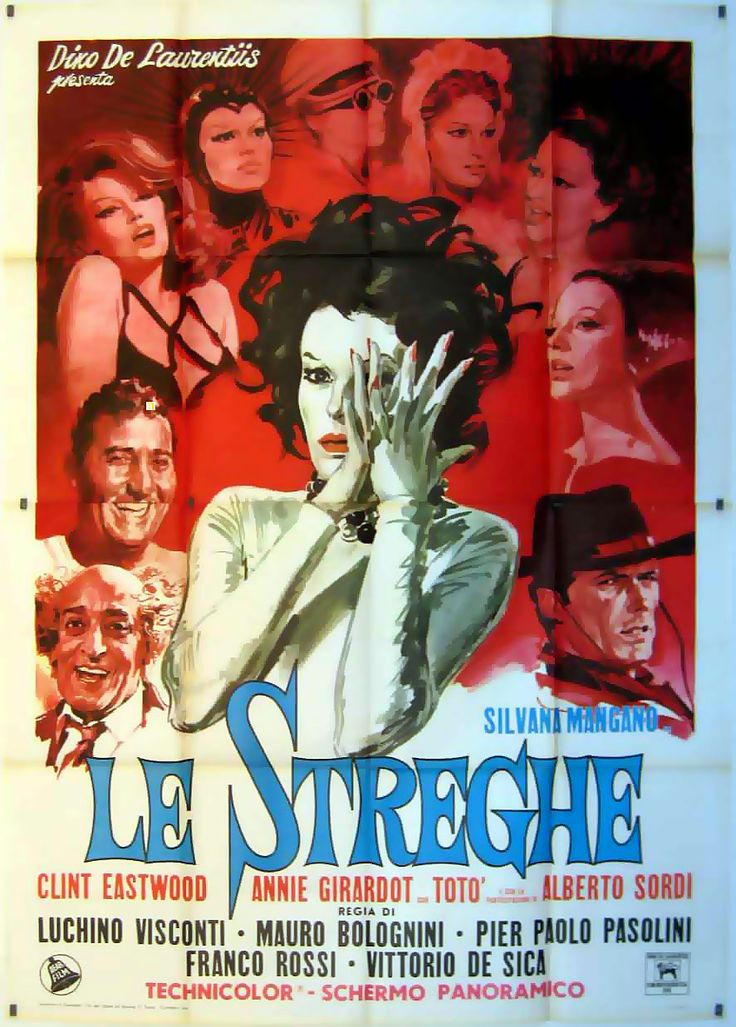 """""""STREGHE, LE"""" MOVIE POSTER - """"LE STREGHE"""" MOVIE POSTER"""