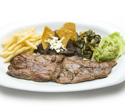 Carne asada a la Tampiquena directly from my home town Yum!