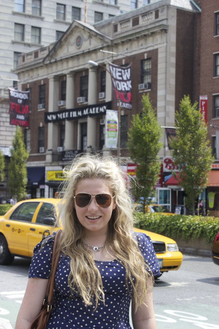 This was taken last year in July out side NYFA's union square campus!