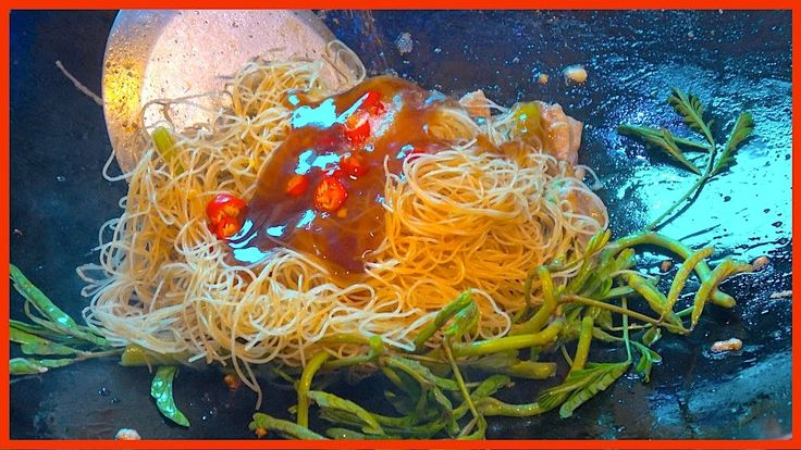 🔴 How to make WATER MIMOSA with Noodle | Traditiona Pad Thai -  Street Food