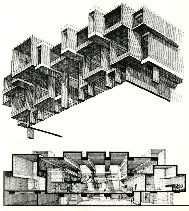 Best Architectural Drawings Images On Pinterest Architecture