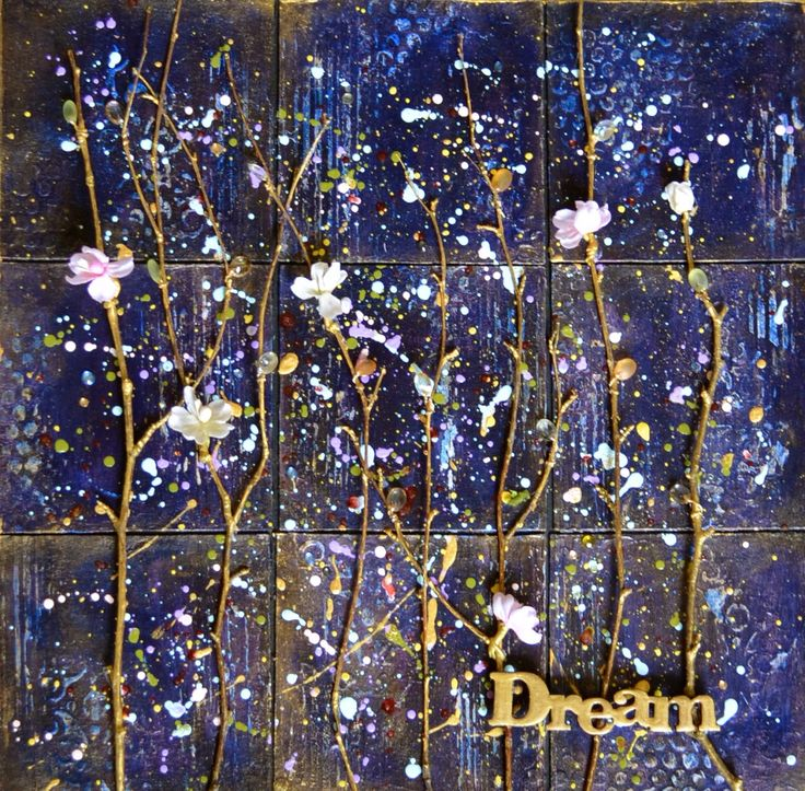 Dream. Mixed media canvas