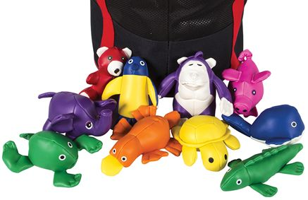 Animal Bean Bag $4.00 Ideal for developing hand/eye coordination, laterality and tactile awareness, not to mention fun! Bean bags are filled with plastic pellets which are phthalate compliant. Soft vinyl covered. Colours of animals may vary from pictures shown.