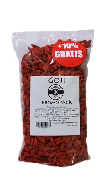 Goji berries, 220 gr. - crazybanana.eu