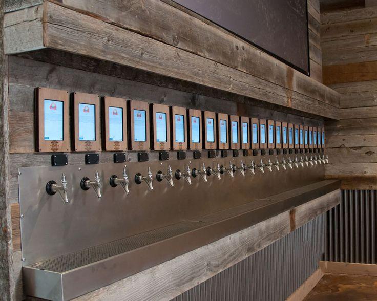 restaurant bar tap system design - Google Search