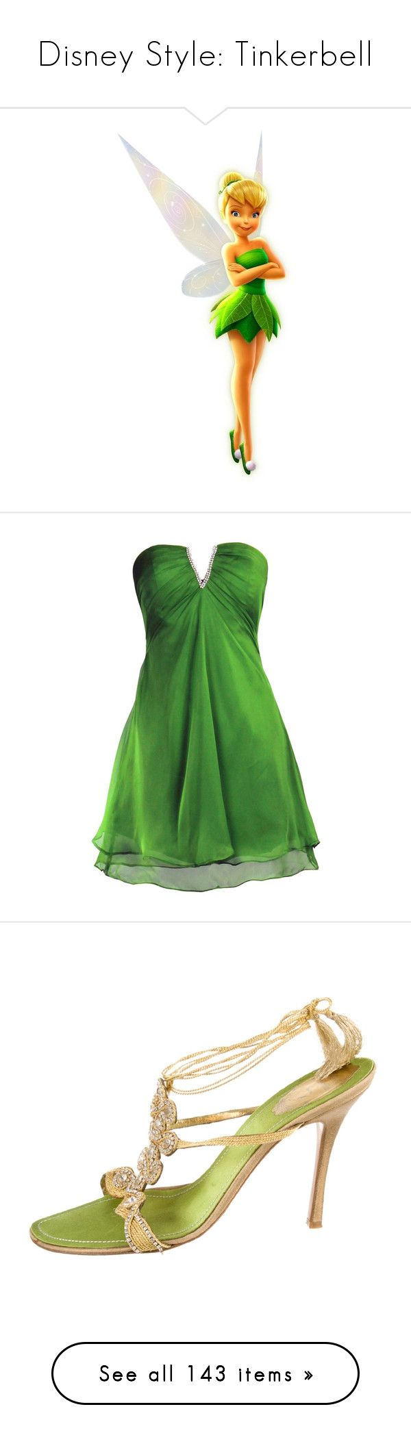 """""""Disney Style: Tinkerbell"""" by shannen-legere-lavigne ❤ liked on Polyvore featuring disney, tinkerbell, characters, fairies, people, dresses, short dresses, green bridesmaid dresses, bridesmaid cocktail dresses and green mini dress"""