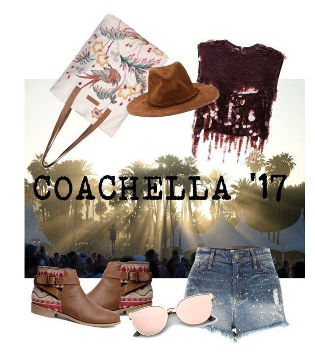 """""""Ready for Coachella '17"""" by egaemgyu on Polyvore featuring BeckSöndergaard, River Island, H&M and Marni"""